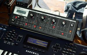 Moog Slim Phatty & Kurzweil PC361