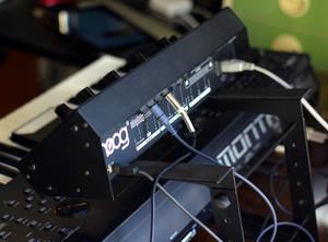 Moog Slim Phatty on Yamaha MONTAGE6