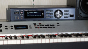 Kawai MP9500 and Roland INTEGRA-7